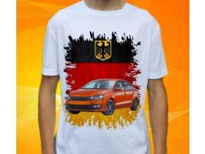 tričko s autem Volkswagen Polo Allstar