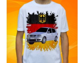 tričko s autem Volkswagen Polo 1999
