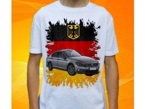 tričko s autem Volkswagen Passat