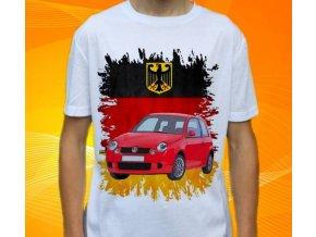 tričko s autem Volkswagen Lupo