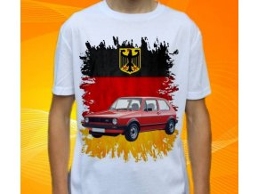 tričko s autem Volkswagen Golf