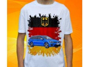 tričko s autem Volkswagen Golf R Variant