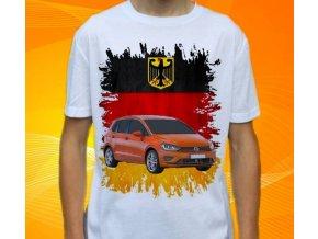 tričko s autem Volkswagen Golf Sportsvan