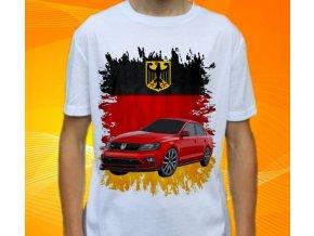 tričko s autem Volkswagen Jetta