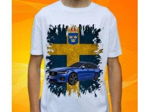 tričko s autem Volvo V90