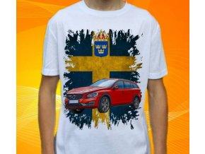 tričko s autem Volvo V60