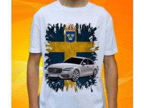 tričko s autem Volvo S90