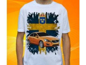 tričko s autem Volvo S60
