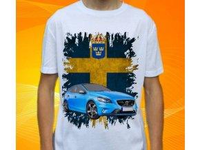 tričko s autem Volvo S40 Coupe