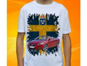 tričko s autem Volvo C70