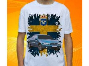 tričko s autem Volvo C70 Coupe