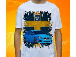 tričko s autem Volvo C30
