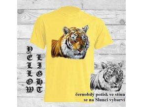 zlute tricko tygr