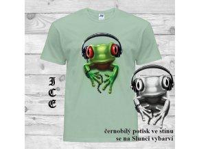 zelene tricko rockova zaba