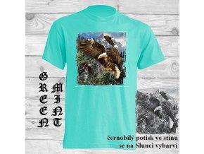 orel natural tričko uv potisk