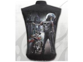 košile spiral s temným jezdcem