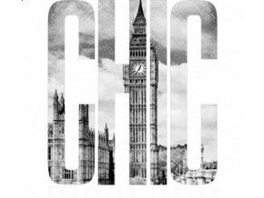 Dámské tričko s potiskem London