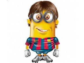 Pánské tričko s potiskem mimoně Messiho.