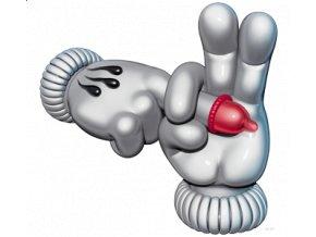3D pánské APP tričko s potiskem neslušného gesta