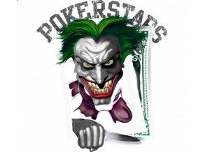 pánské, 3D, tričko, potisk, vtipné, Joker, poker