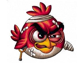 Pánské 3D tričko s potiskem Angry Birds