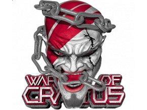 Pánské 3D tričko s potiskem God of war