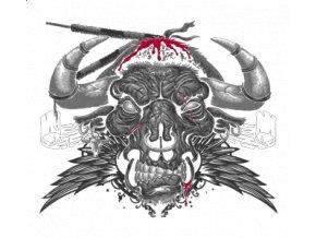 Dámské tričko s potiskem býka z koridy