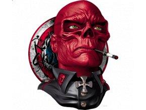 pánské, 3D, tričko, potisk, vtipné, Avengers, Red Skull