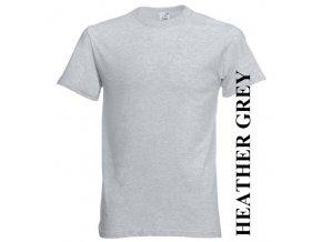 dětské, tričko, jednobarevné, bavlněné, šedé