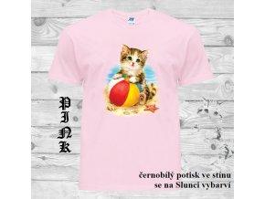 levné-dětské-tričko-UV_potisk-kotě-modré