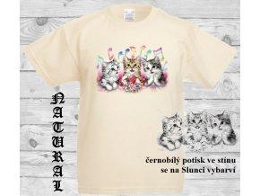levné-dětské-tričko-UV_potisk-kočičky-modré