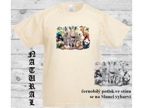levné-dětské-tričko-UV_potisk-pirát-zvířata-modré