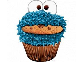 Nažehlovací transfer 3D obrázek Cookie Monster