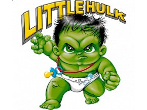 3D, dětské, tričko, potisk, aplikace SION, Hulk