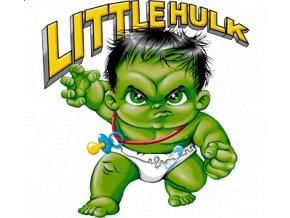 Nažehlovací transfer 3D obrázek Hulk