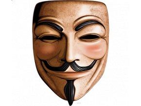 Pánské 3D tričko s potiskem Anonymous