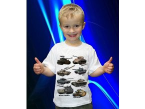 tričko, dětské, pánské, potisk, tanky