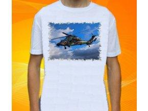 tričko, dětské, pánské, potisk, vrtulník, Eurocopter