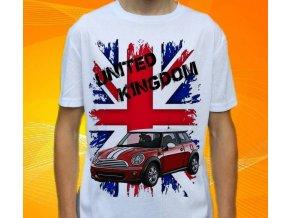 tričko s autem Mini Cooper