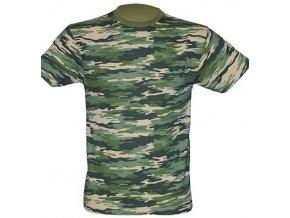 pánské, tričko, maskáčové, bavlněné, camouflage