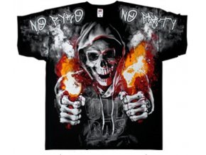 tričko MMA bez efektu