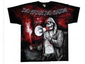 tričko MMA bez fanoušků