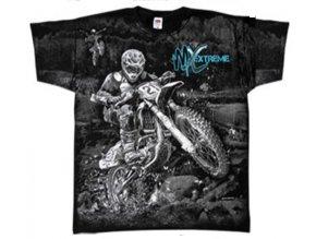 tričko motokros extrémní vášeň
