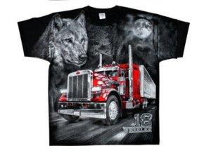 tričko truck pod kapotou