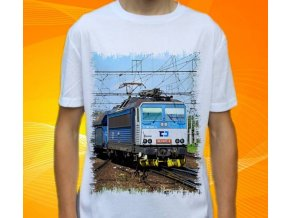 tričko elektrická lokomotiva 163 047