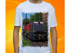 tričko lokomotiva diesel 741 715