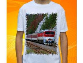 tričko lokomotiva diesel 757 004
