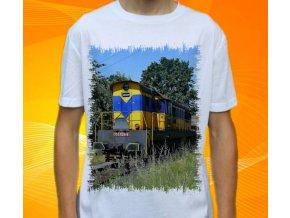tričko lokomotiva diesel 770 525