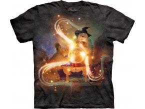 tričko-veverka-čaroděj-bavlněné-potisk-batikované