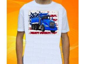 tricko-nakladni-auto-potisk-kamion-kenworth